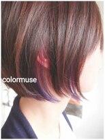インナーカラーx purple