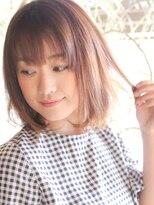 オーガニックサロン フェイス 梅田店(organic salon face)透明感のあるカラーとボブスタイル