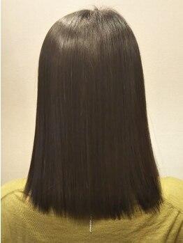 ハジメ(HAJImE)の写真/ダメージを取るカット法だからこその高い再現性。髪を短くしたくはないけどダメージが気になる方も必見!