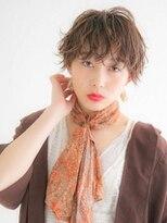 アース 八王子店(HAIR&MAKE EARTH)透明感マッシュショート