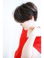 【morio下通】大人かわいい前下がりショート