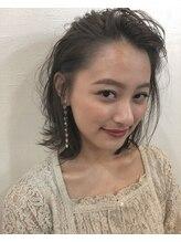 エトイ(etoi)ラフな前髪かきあげパーマ