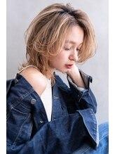 ロジッタ(ROJITHA)【ROJITHA】マッシュウルフ × ミルクティーベージュ