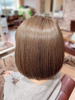 アテンドバイピース(ATTEND by peace)の写真/天然由来の商材を使用のオーガニックカラー特化サロン☆科学物質除去剤と肌に優しいカラーでツヤ髪が叶う!