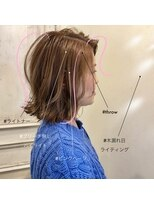 スーベニール(souvenir)白髪もカバー 大人女性のためのハイライト3Dカラー