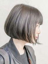 ルーシー ヘアデザインワークス(Lucy Hair Design Works)丸みボブ×美シルエット