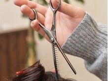ギフト(hair salon gift)の雰囲気(特殊なハサミを使った『リセッター』でまとまりやすい髪に♪)