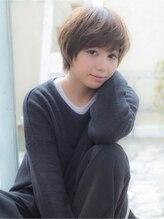 オーブ ヘアー シャルム 静岡店(AUBE hair charme)ふんわりナチュラルショートボブ
