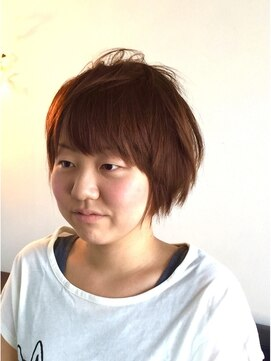 ヘアーカーブ(haircarve)haircarve★ノームコア・ボブショート3