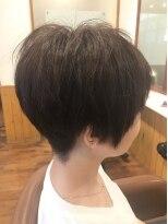 テトラ ヘアー(TETRA hair)2ブロック マニッシュショート