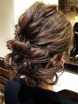 コレット ヘアー 大通(Colette hair)ヘアセット×セミロング