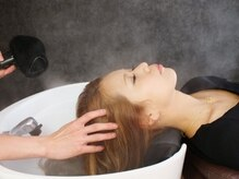 アイルー(airou)の雰囲気(眠りたくなるようなシャンプー台で極上の癒しを体感して下さい)