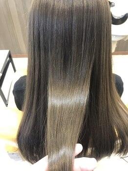 ハブ ヘアー(HUB hair)の写真/ダメージレスにこだわるならHUBにお任せ★髪質改善に特化し、髪のお悩みに合わせたベストな施術をご提案!!