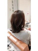 ルルカ ヘアサロン(LuLuca Hair Salon)LuLucaお客様☆スナップ 外ハネミディ