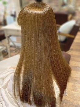 アテンドバイピース(ATTEND by peace)の写真/【NEO/オーガニック/時短】3種のストレートメニューをご用意★クセ毛等のお悩み解決&なりたい髪を叶えます!