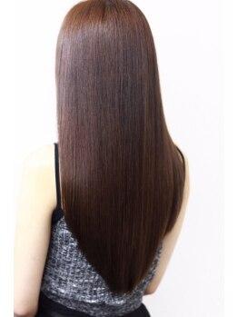 オルオル(OLU OLU)の写真/傷みが気になる方にもオススメ☆ダメージレスでサラサラ美髪…自然に仕上がるからオーダーが多いのも納得。
