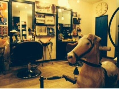 ヘアルーム カーディガン(hair room cardigan.)の写真