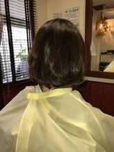 ヘアーリゾート アトリエ ソレイユ 相武台(Hair Resort Atelier SOLEIL)フェミニン大人ボブ
