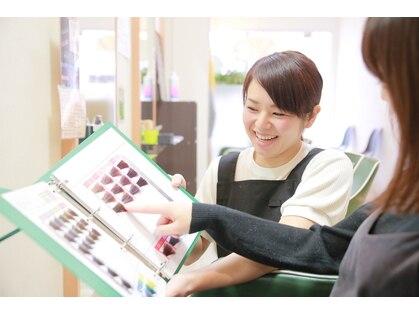 カットルームカラー 深井店の写真