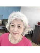 美容室エルカミノグレイヘアー