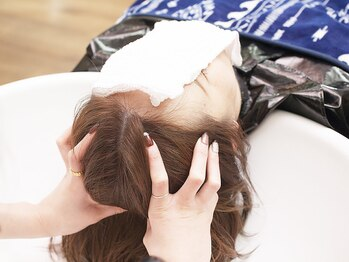 シュシュ(Chou Chou)の写真/【ChouChou】のオゾンヘッドスパで頭皮も心もリラックス♪頭皮からキレイにするので、美髪ケアも叶う♪