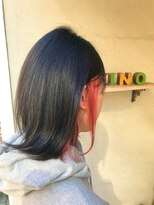 ヘアーメイク アフィーノ(hair make affino)個性×赤