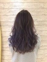 【lavender ash10】グラデーションカラー カラーリスト海野