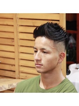カイバーバーバイウッズ(Kai Barber by woods) men's cut