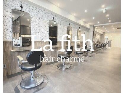 ラフィスヘアー シャルム 渋谷店(La fith hair charme)の写真
