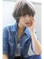 【Blanc/難波】外国人風パールグレージュ_ノーブルショート