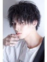 リップスヘアー 銀座(LIPPS hair)【STS】色気バングセンターパートツイストスパイラル