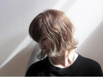 ビギンプラス(BEGIN +)の写真/オーガニックのカラー剤を使用した施術。ヘナもご用意あり◎髪と頭皮に優しい施術でしなやかな艶髪を実現☆