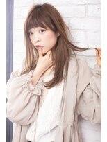 ログヘアー 大塚北口店(L.O.G hair)フェミニンシースルーミディ【大塚/池袋/新大塚】