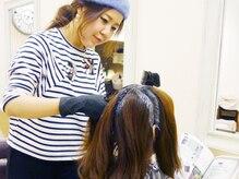 オーガニックのハーブカラー・パーマが髪と頭皮に優しく☆健やかできらめく美髪に♪