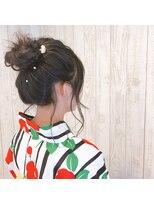 美容室レッシュ ひたちなか店浴衣のお着付けとヘアアレンジ!