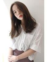 艶髪×透明感な大人女子ロング