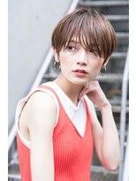 【kate 大宮】似合わせ小顔ショート×3Dハイライトベージュ