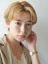 【karra 蒲田】外国人風刈り上げベリーショート