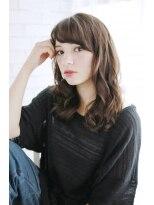 美髪デジタルパーマ/バレイヤージュノーブル/クラシカルロブ/776