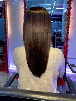 カリテ(qualite)の写真/《サイエンスアクア》で自然なまとまりのある髪へ◎厳選したorganicトリートメントも多種ご用意♪