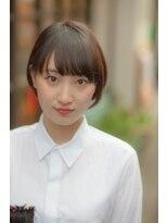 【吉祥寺/吉祥寺駅】大人フェザーボブ×オリーブグレージュM12