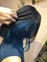 ハーフインナー 水色と青