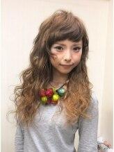 エクステ専門店ミキ 横浜店(MIKI)2トーン風☆横巻きウエーブスタイル