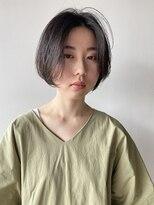 ソルト(Salt)Salt大久保◇ナチュラルミニボブ×黒髪3