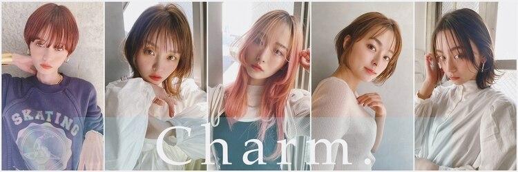 シャルムバイケンジ(Charm.by KENJE)のサロンヘッダー