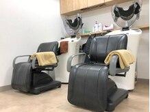白髪染め専門店 カラーストーリー台原店の雰囲気(話題のオートシャンプー!!耳のうらや首回りもしっかり洗います◎)
