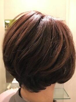 ジャッカ(giacca)の写真/傷みにくいカラーで髪や頭皮のダメージを抑え、色モチも良くツヤ感がUP♪貴方に合わせたStyleをご提案☆