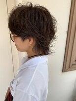 マイ ヘア デザイン(MY hair design)ハイライトウルフヘアー