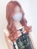 アマンドール(AMAN D'OR)韓国アイドル風リリーウェーブ×パステルピンク