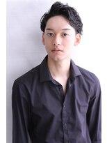 【Blanc】黒髪×ツーブロックショート